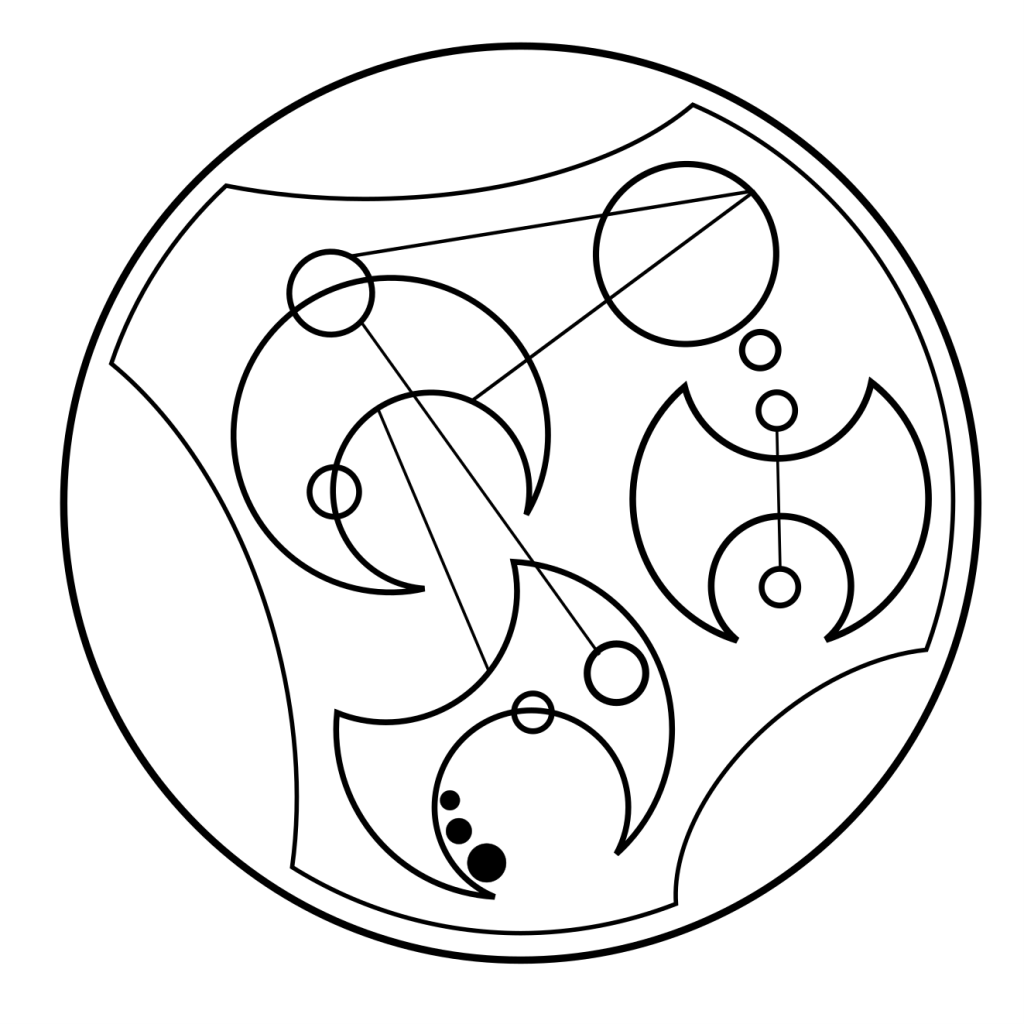 Learning to write Gallifreyan